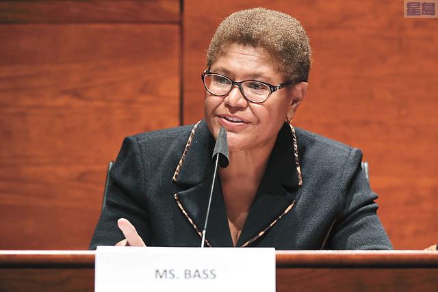南加州聯邦眾議員巴斯聲望甚高,之前也曾被視為有可能成為拜登副手。美聯社資料圖片