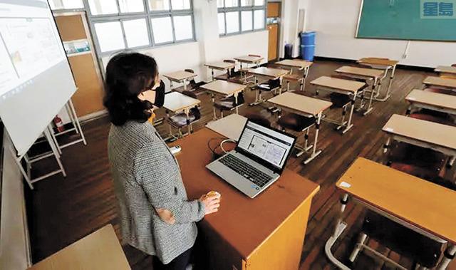 聖荷西教師獲准選擇在家遠距授課,不必面對空盪盪的教室。資料圖片
