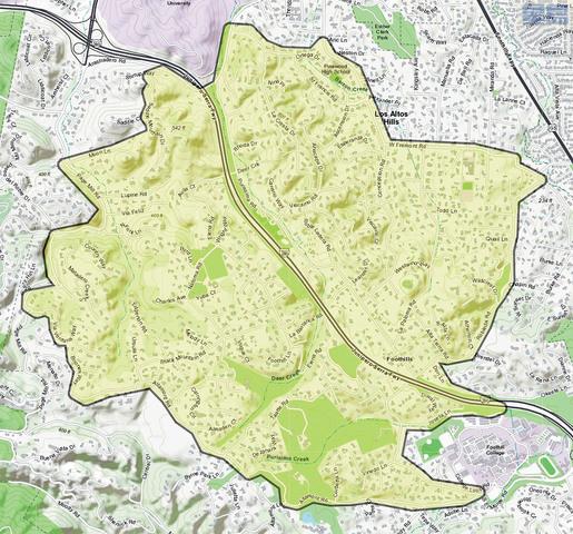 聖縣疾管局將在洛斯阿多斯山郵政編碼 94022 區域進行滅蚊噴灑。資料圖片