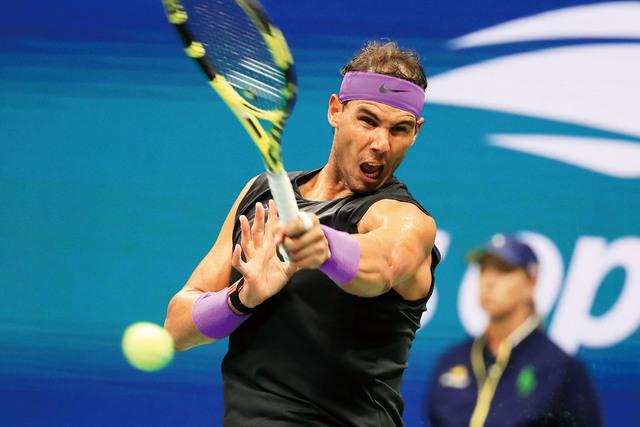 截止目前,已有包括納達爾在內的多名巨星退出美網比賽。資料圖片