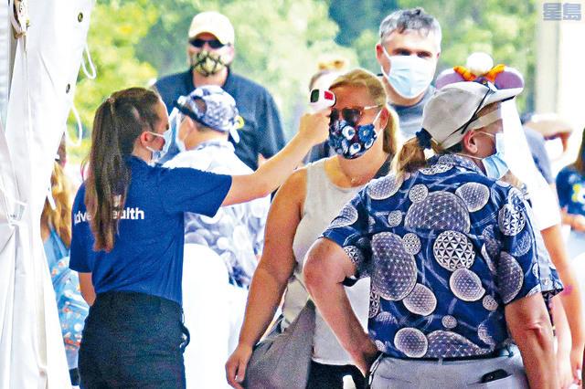 ■佛州繼加州之後,成為感染新冠病毒病例超過50萬的第二個州。此外,該州接受新冠病毒檢測的人數已超過382萬。     奧蘭多前哨報圖片