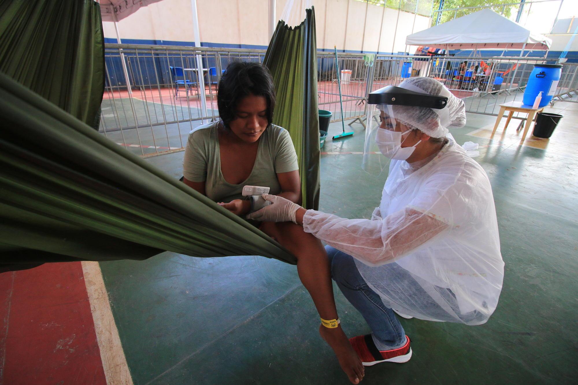 巴西登革熱肆虐的地區,在去年和今年的登革熱感染率都很高,但新冠病毒的傳染速度卻較慢。    資料圖片