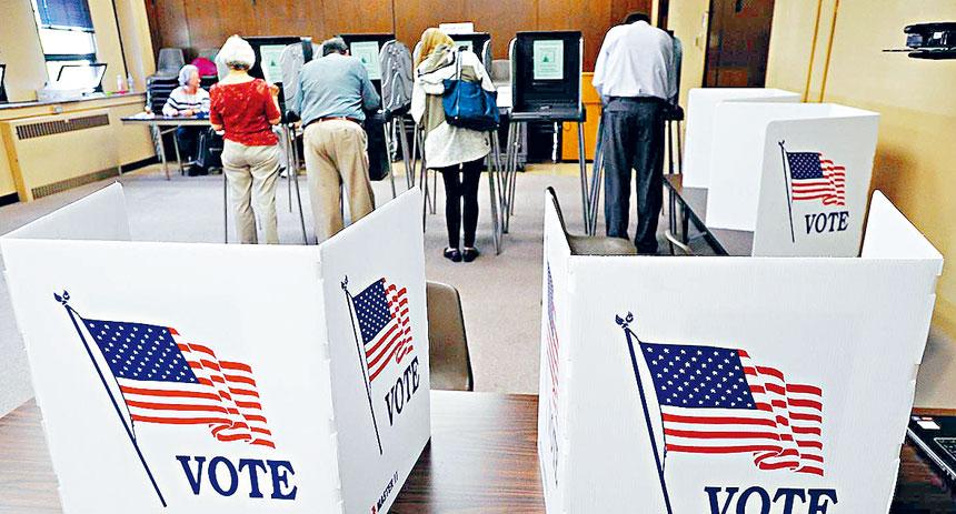 最新報告顯示,亞裔今年投票熱情高漲,過半數更支持拜登。資料圖片