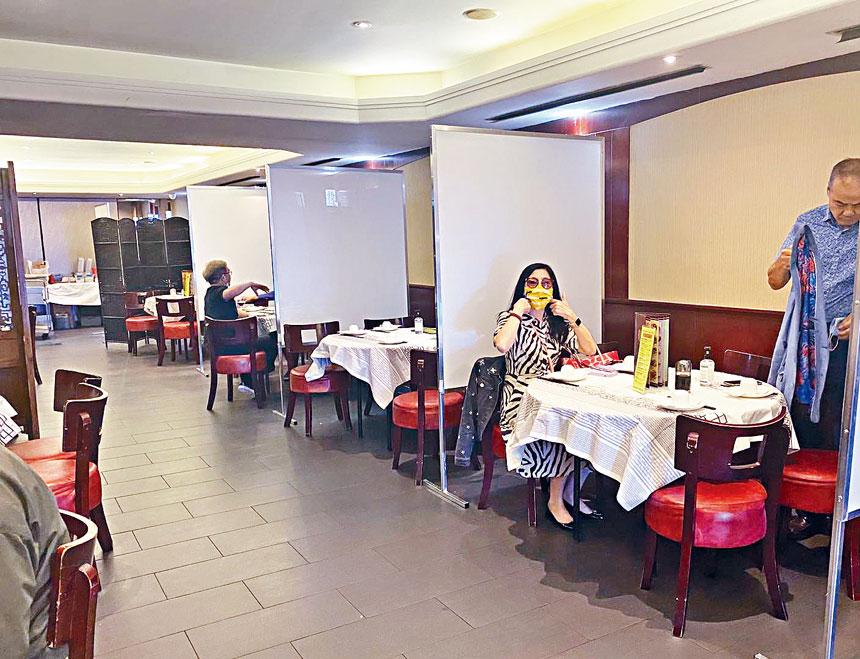 隨著堂吃的開啟,昇輝已迎來多桌食客。