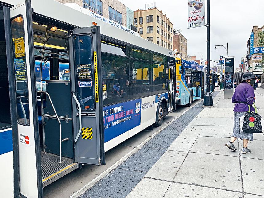 「緬街巴士專線計劃」從三福大道至北方大道一段0.6英里的緬街南北方向車道,劃為只准公共巴士專用,所有汽車禁止行駛。