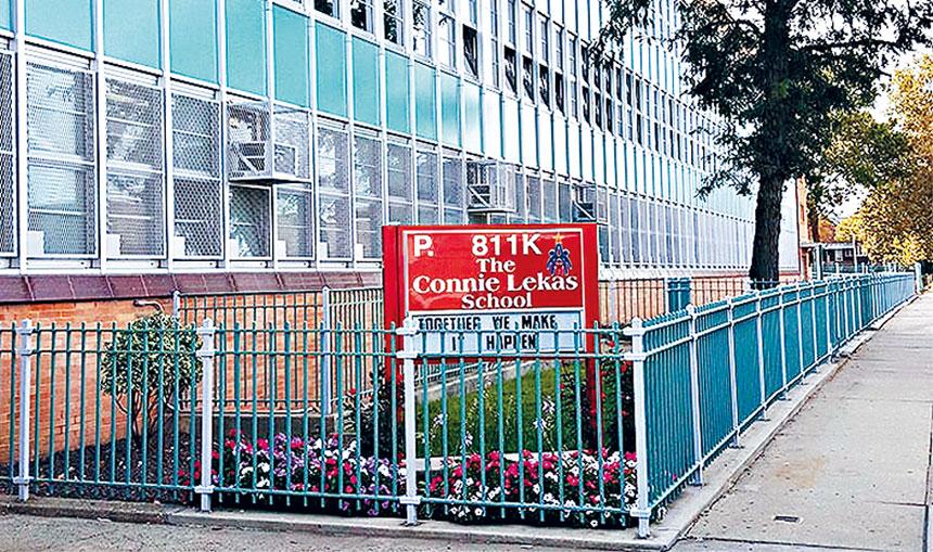 羊頭灣華裔學生逐年增加的811小學有兩人確診。
