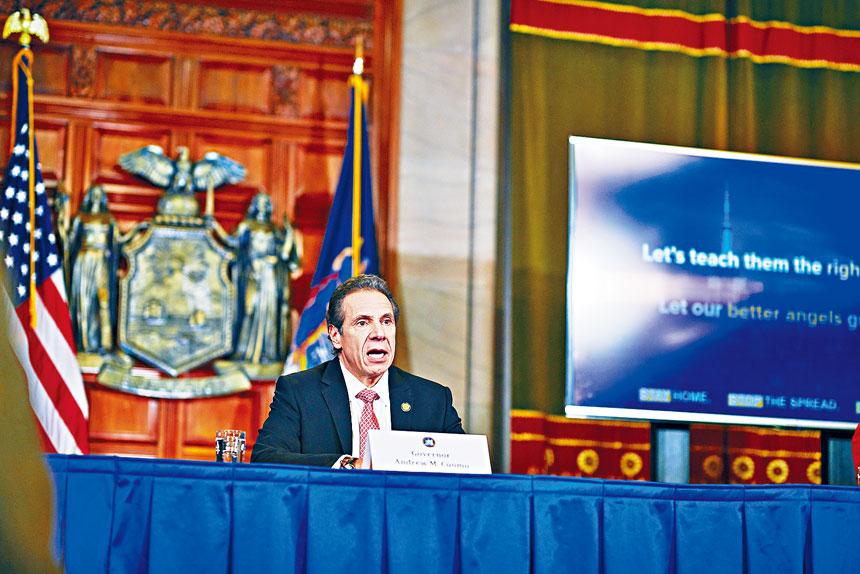 柯謨要求州酒管廳加大力度巡視,確保酒吧和餐館守規。Gabby Jones/紐約時報