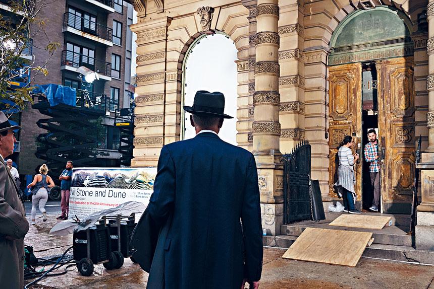 紐約市一直是電影電視的拍攝熱門地點。 Todd Heisler/紐約時報