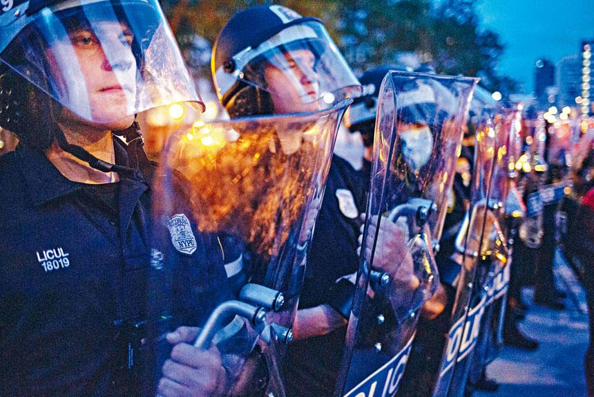 警方在6、7月示威期間,曾多次與抗議者發生衝突。Amr Alfiky/紐約時報