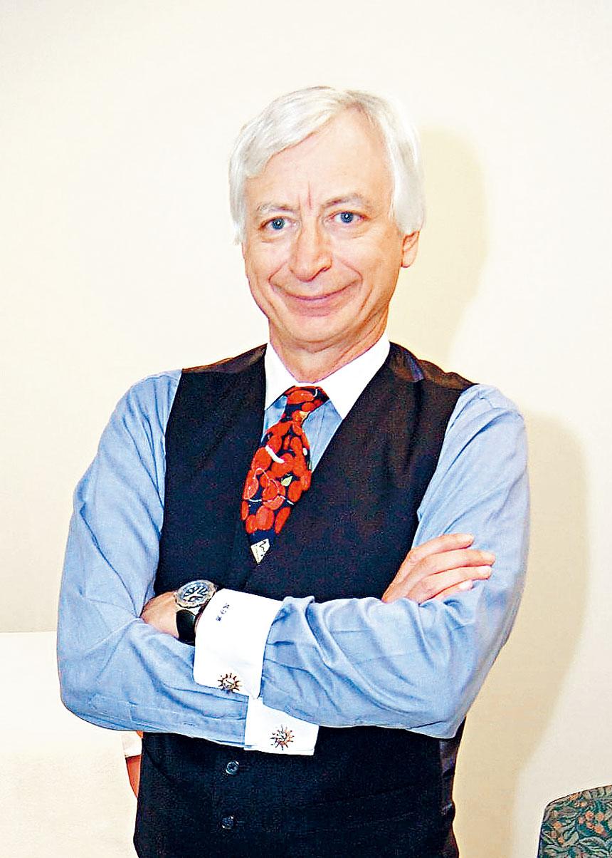 波大醫學院霍利克教授。檔案圖片