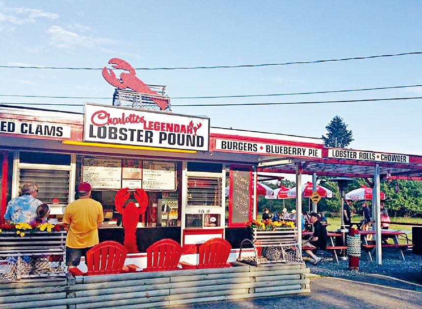 緬因州眾多的龍蝦餐廳吸引很多外地遊客。檔案圖片