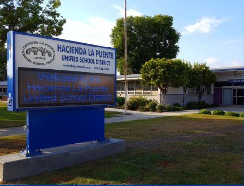 哈崗拉朋地聯合學區入選全加州前50名最佳雇主。哈崗拉朋地聯合學區