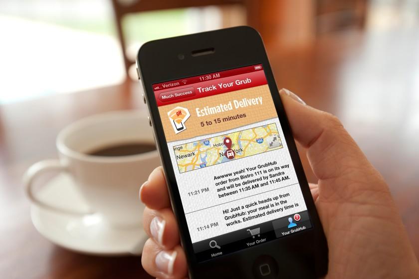 加州新法要求GrubHub等外送餐飲應用軟件業者需與在地餐廳更密切合作。GrubHub