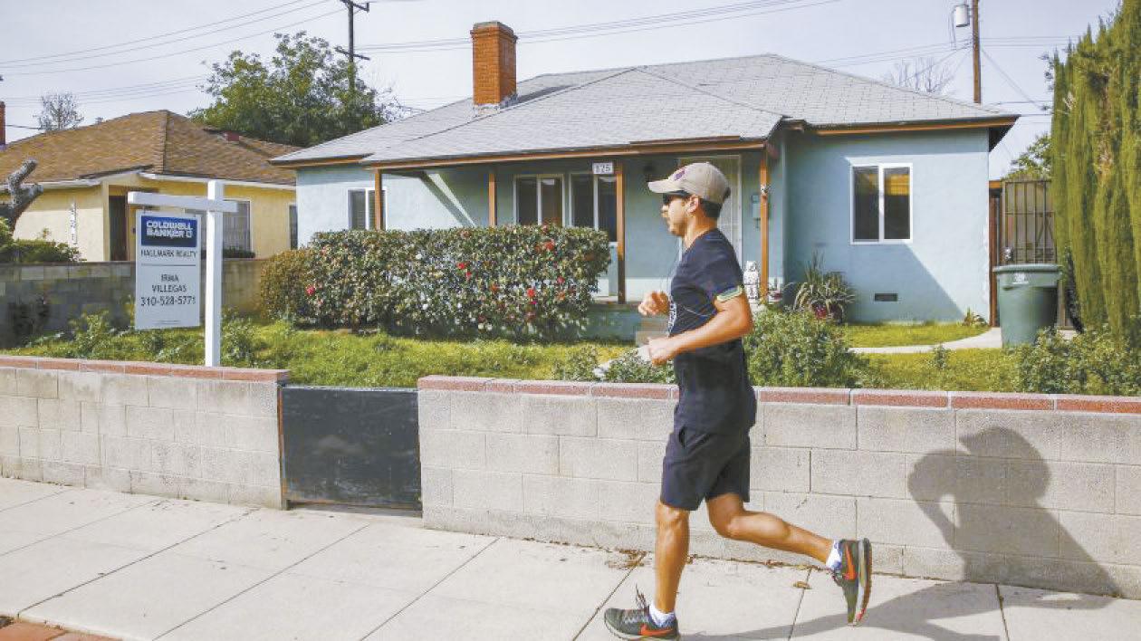 南加州房價再創新高紀錄。洛杉磯時報