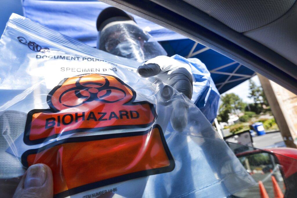 洛縣在勞工節假期過後並無出現新冠肺炎病毒數量激增。美聯社