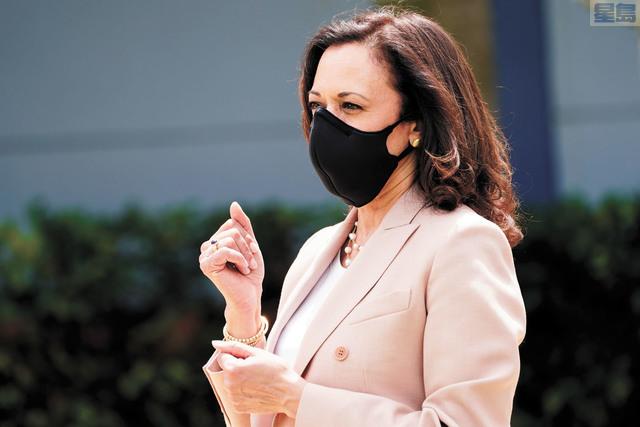 民主黨副總統候選人賀錦麗曾擔任三藩市地檢官,對於警務改革有切身體會。美聯社