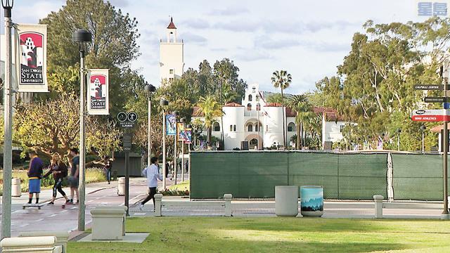 聖地牙哥重新開放狀態受SDSU疫情影響,恐降入最嚴格等級。Fox 5 San Diego
