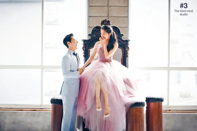 JunJin昨娶空姐女友為妻,新娘樣子終於曝光。