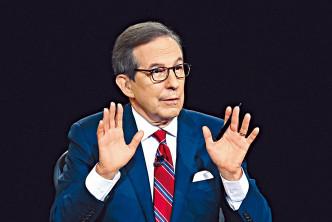 辯論主持人華萊士被批未能控制秩序。