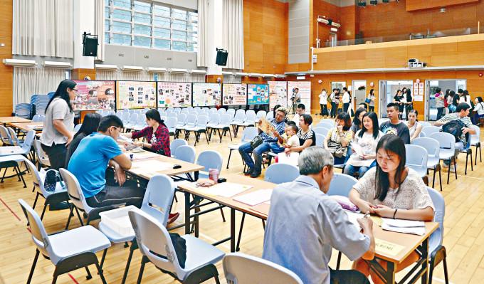 「疫市」下北區不少學校小一自行收表數目不減反增。