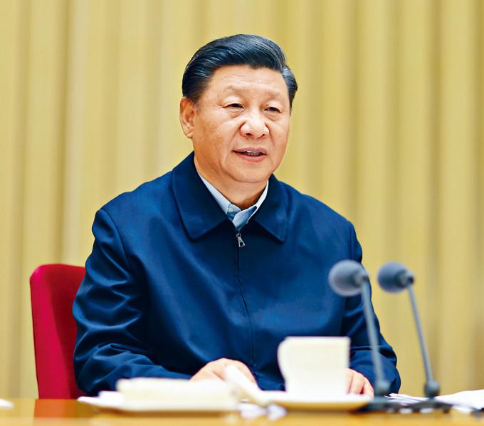 習近平提出要推進新疆伊斯蘭教中國化。