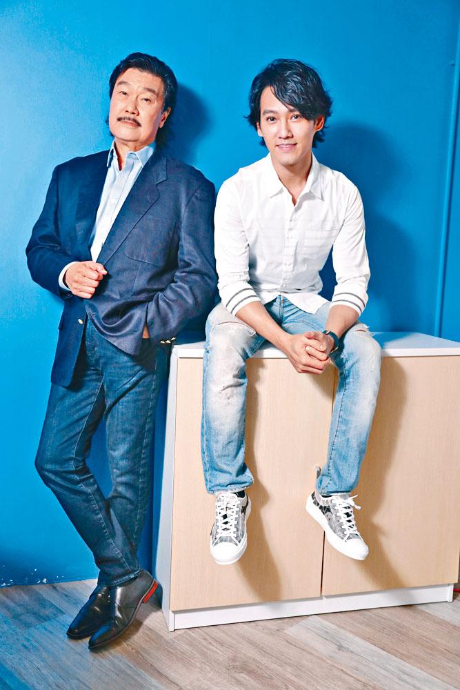 黃錦燊和黃愷傑父子演爭女戲,不但未感尷尬,還大呼過癮!