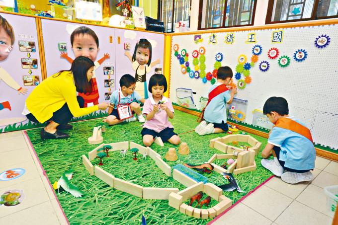 當局擬購入的鋪位之中,以用作幼兒中心的面積最大。