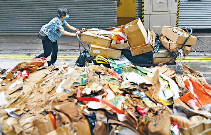 內地二○一七年部署停止入口洋垃圾,今年底再落實停止入口廢紙。