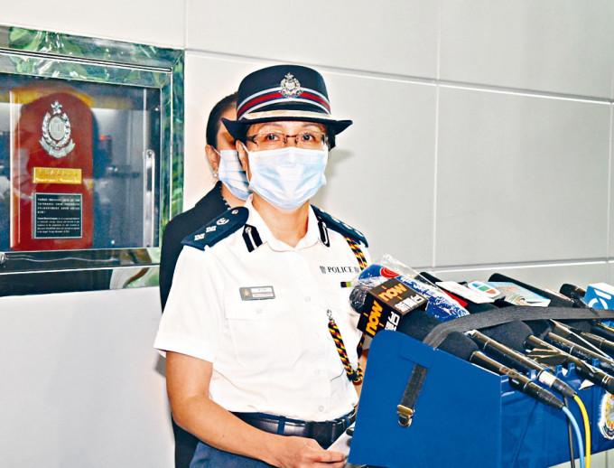 黃少卿總警司稱,警方願意出席區議會溝通。