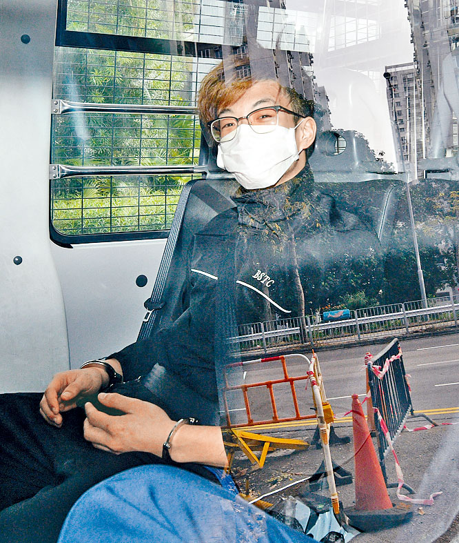 被告陳俊輝, 被判入獄三年十個月。