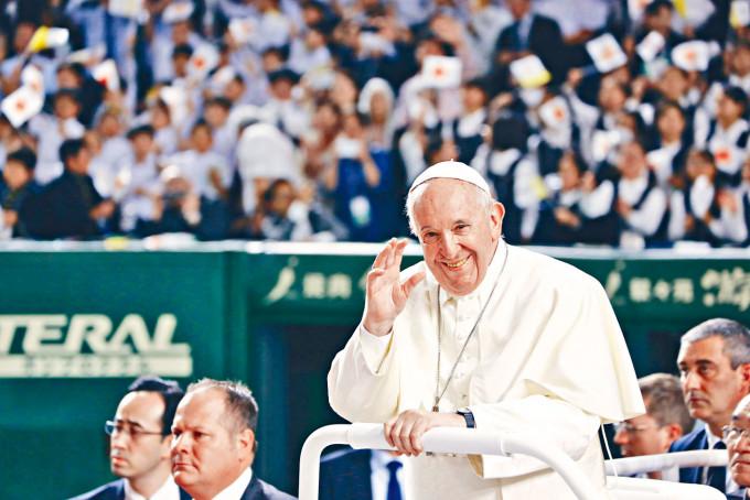 教宗方濟各支持和中國續簽主教臨時協議。