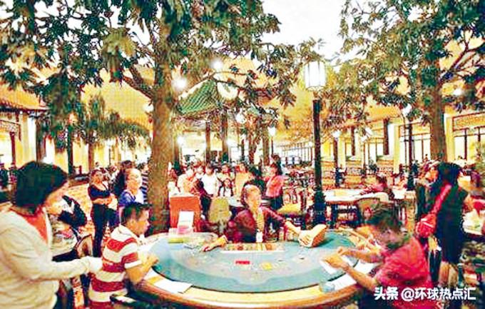 柬埔寨賭場吸引中國人。