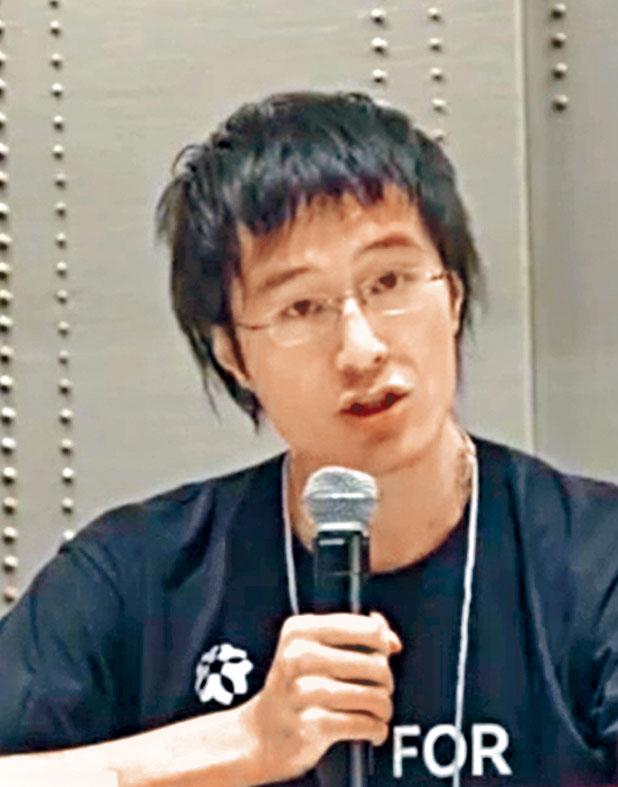 李宇軒是十二被捕者之一。
