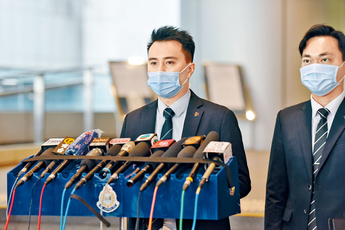 署理警司吳基駿歡迎裁決,認為判刑有阻嚇性。