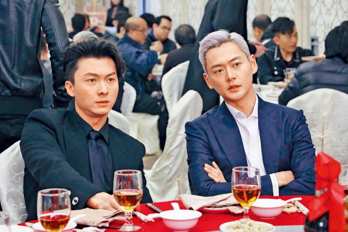 王浩信與張振朗在《反黑路人甲》中的演出,大受歡迎。