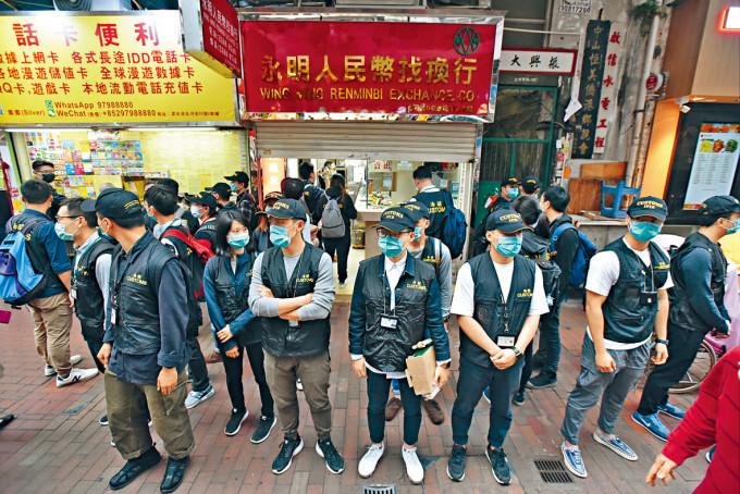 各大紀律部隊申請反應熱烈,其中海關就有高達九成四合資格人員,即約一千九百人選擇延遲退休。