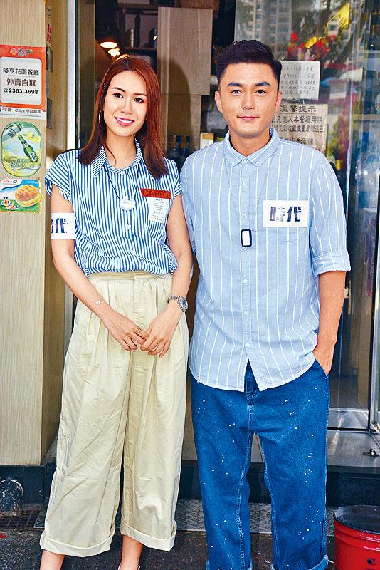 楊明(右)