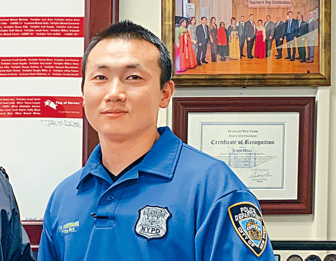 被指為中國當間諜的藏族警察昂旺。