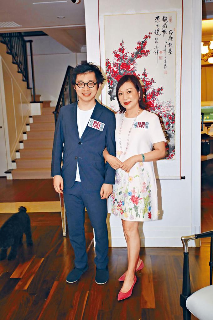林作與林媽媽雖然立場不一,但依然有愛。