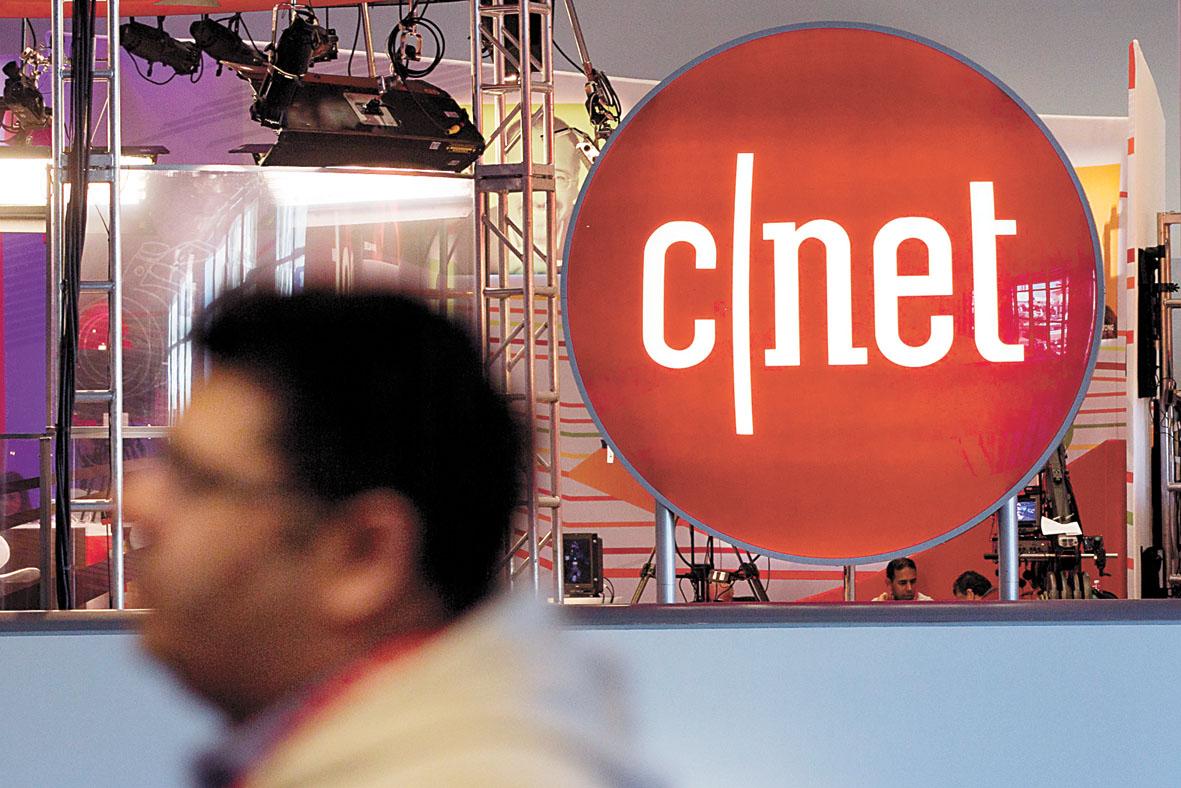 CNET網站最初創立於1992年,近年來旗下網站人氣下滑。彭博社