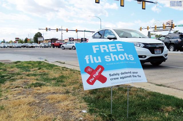 流感季節到,衛生專家鼓勵民眾盡快接種流感疫苗。 美聯社