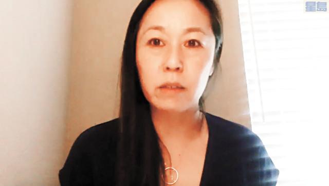 尋求連任的華裔教委林謙悅。