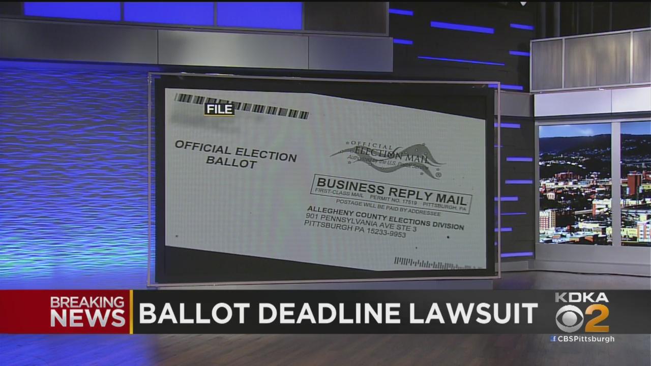賓州法庭拒絕了共和黨要求快速審理的動議,暫時允許賓州在選後3天仍能點票。    電視屏幕截圖