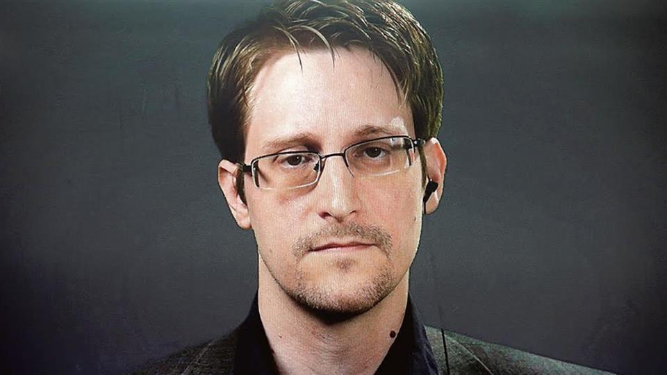 中央情報局前僱員斯諾登。路透社