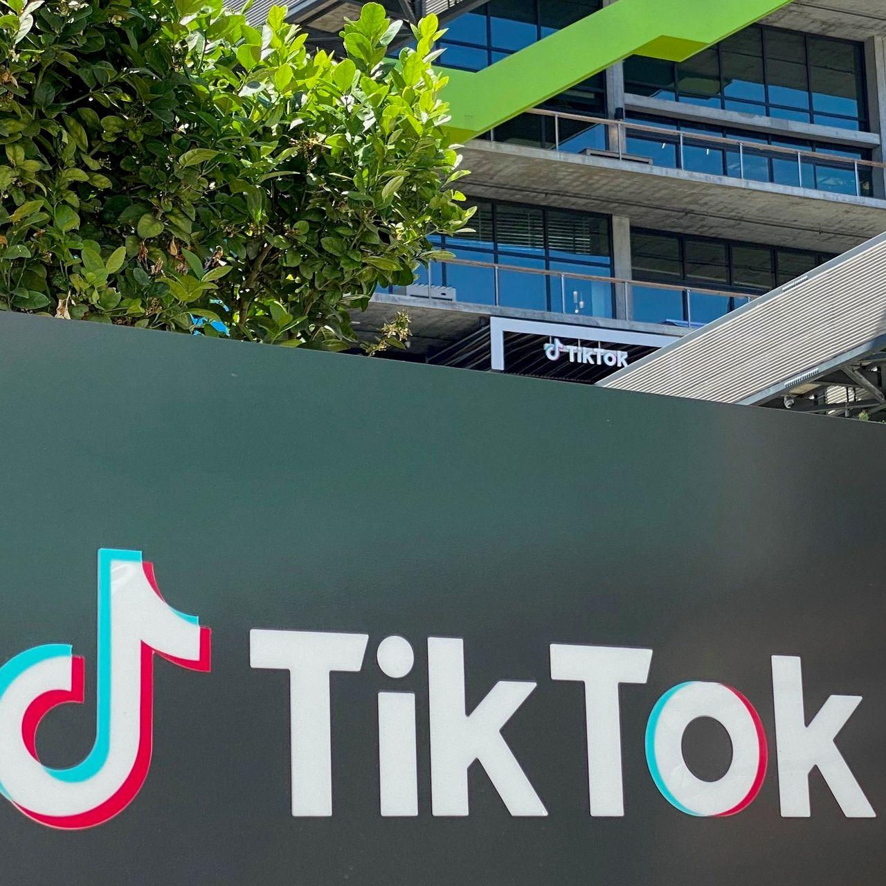 特朗普指責海外版TikTok構成國家安全威脅。資料圖片