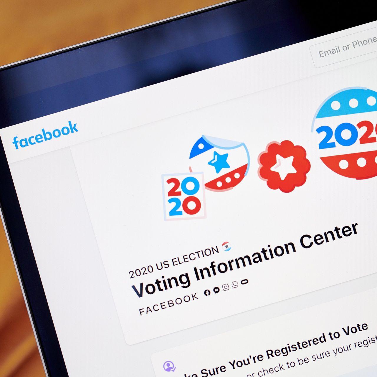 據悉,臉書高層只會在緊急情況下,比如選舉出現有關的暴力事件時,才授權啟動機制。 華爾街日報圖片