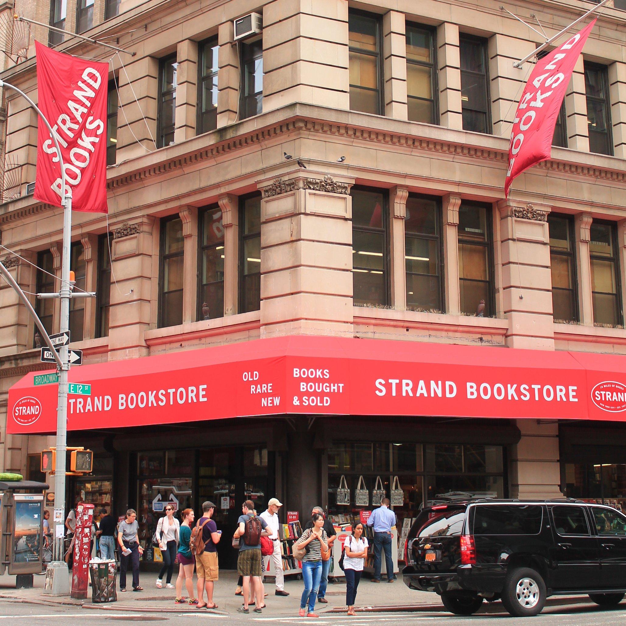 ■已有93年歷史的書店Strand首次向 客人求救。 推特圖片