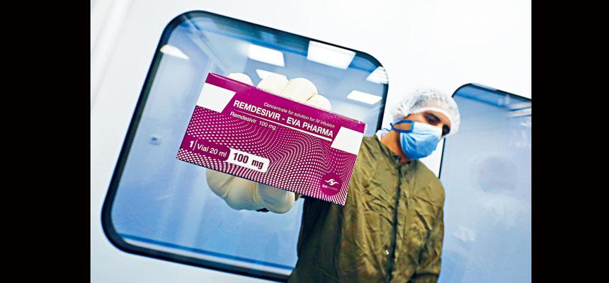 FDA批准瑞德西韋用於新冠病毒患者的治療,這是被監管機構視為安全有效的首款藥物。 路透社