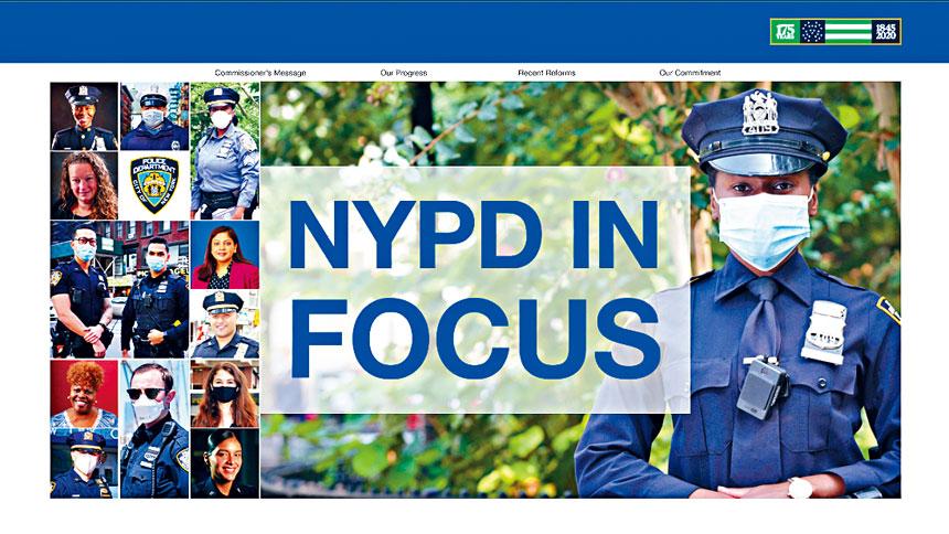 紐約市警務處日前推出「市警焦點」項目。