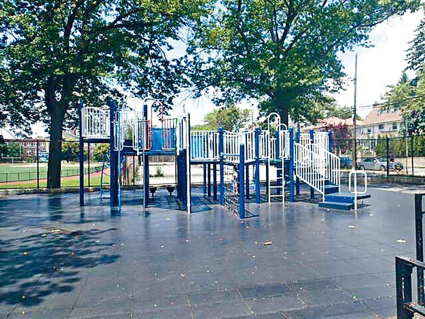 Russell Pedersen遊樂場獲540萬元用於重新設計。 市公園局提供